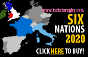 6 Nations 2020 Rugby Tickets