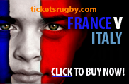 2022 France v Italy rugby tickets