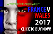 France v Wales Rugby Tickets 2017