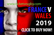 France v Wales Rugby Tickets 2019