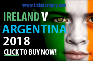 Ireland Rugby Tickets 2019