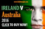Ireland v Australia 2016 rugby tickets