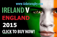 Ireland v England 2015 Rugby Tickets