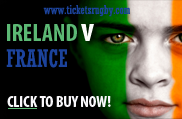 France v Ireland Rugby Tickets 2022