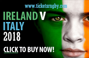 Ireland Rugby Tickets 2018