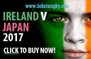Ireland v Japan 2017 rugby tickets - Cardiff