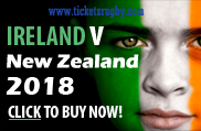 Ireland v All Blacks  rugby 2018