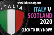 Italy v Scotland Rugby Tickets 2020