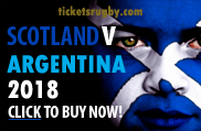 2018 Scotland v Argentina Rugby Tickets