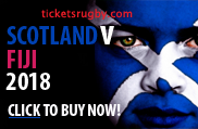 Scotland v Fiji rugby tickets 2018