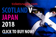 Scotland v Japan 2018 rugby tickets - Cardiff