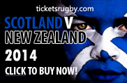 Scotland v All Blacks 2014 rugby