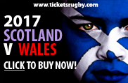 Scotland v Wales 2017 tickets
