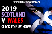 Scotland v Wales 2019 rugby tickets - Cardiff