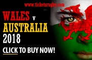 Wales v Australia Rugby Tickets 2018
