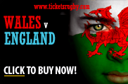 Wales v England 2013 rugby tickets