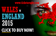 Wales v England 2015 rugby tickets - Cardiff