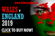 Wales v England Rugby Tickets 2019 RBS Six Nations