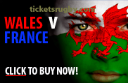 Wales v France rugby tickets 2022