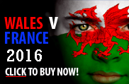 Wales v France Rugby Tickets 2016
