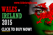 Wales v Ireland Rugby Tickets 2015