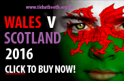 Wales v Scotland 2016 rugby tickets
