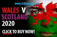 Wales v Scotland 2020 rugby tickets - Cardiff